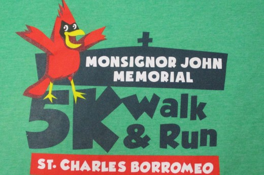 Monsignor John 5K walk and run