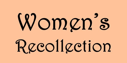 Nov 10 - Women's Recollection (fall 2018)